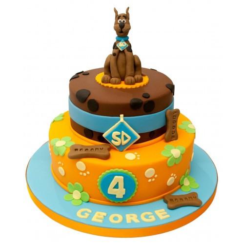 Scooby Doo Birthday Cakes  scooby