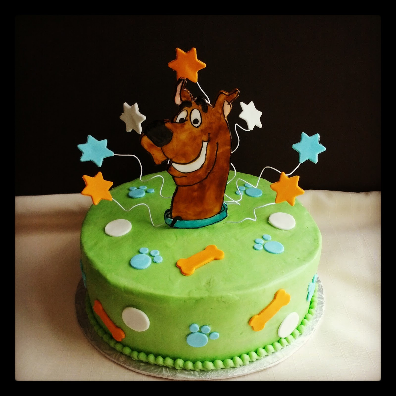 Scooby Doo Birthday Cakes  Second Generation Cake Design Scooby Doo Birthday Cake