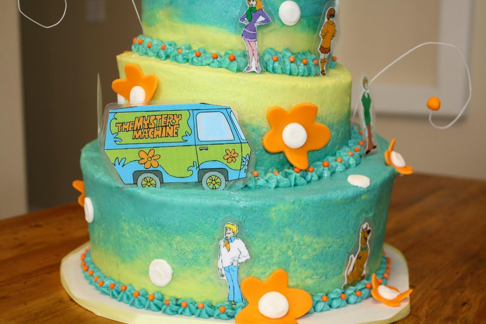 Scooby Doo Birthday Cakes  bumble cakes scooby doo cake