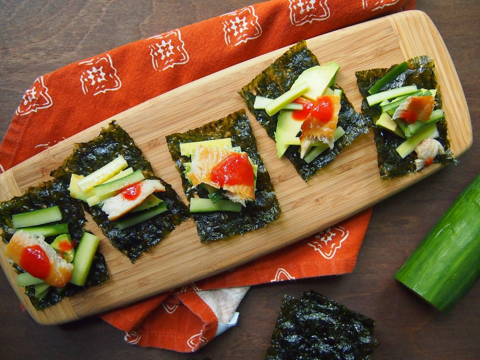 Seaweed Snacks Recipe  Seaweed Snack Recipes