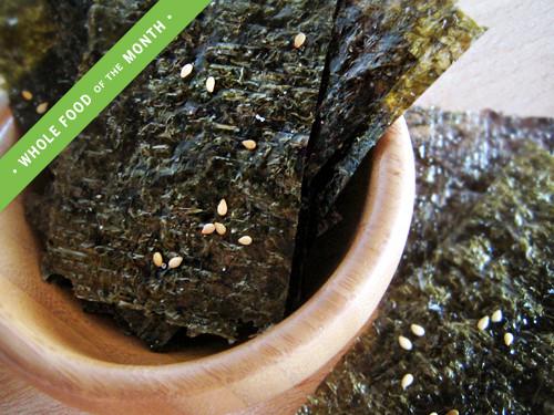 Seaweed Snacks Recipe  Toasted Sesame & Wasabi Seaweed Snacks YumUniverse™