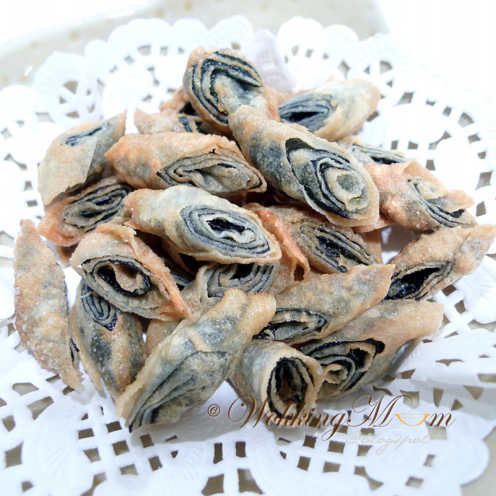 Seaweed Snacks Recipe  What s Wokking CNY Seaweed Snacks