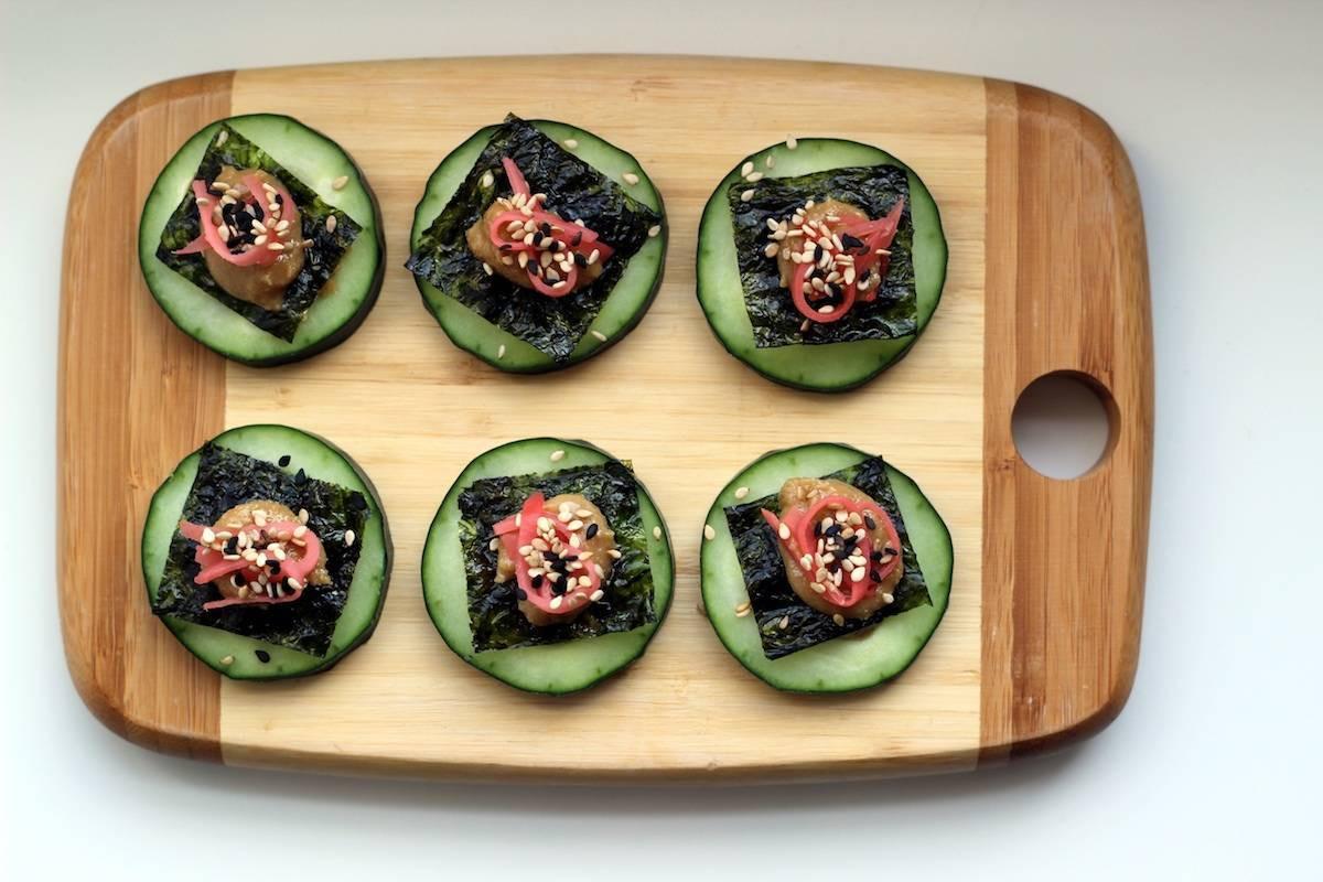 Seaweed Snacks Recipe  Cucumber Sesame Seaweed Snacks Prepgreen