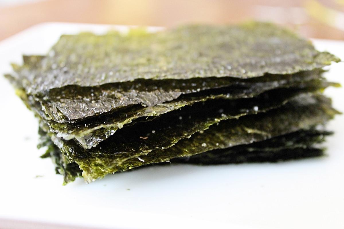 Seaweed Snacks Recipe  Simple Snacks Homemade Seaweed Snacks Dora s Daily Dish