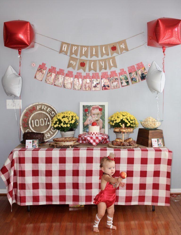 September Birthday Party Ideas  Picnic theme birthday