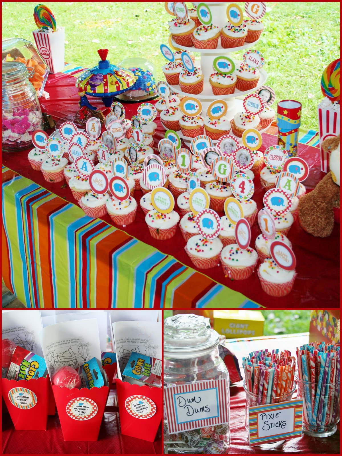 September Birthday Party Ideas  Oikology 101 Circus Birthday Party Overview