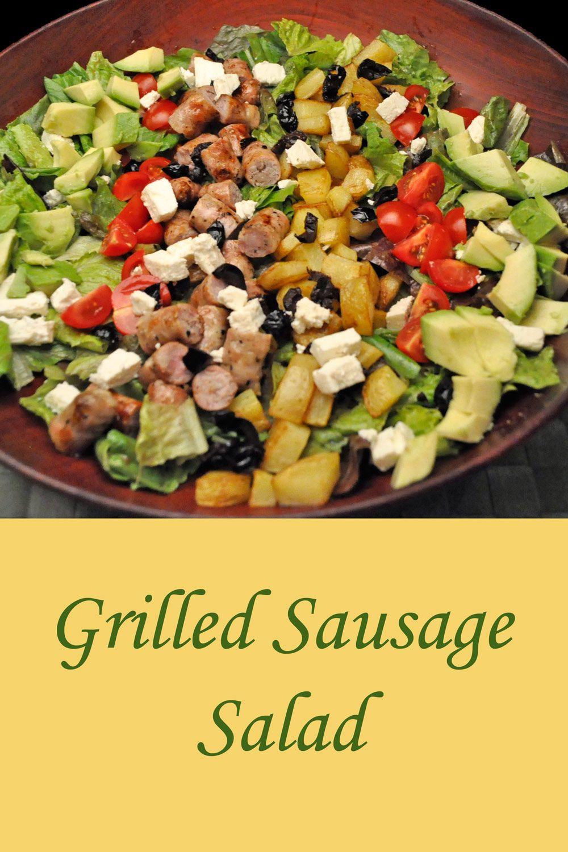 Side Dishes For Grilled Sausage  Grilled Sausage Salad Recipe