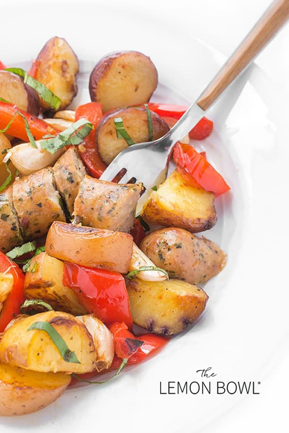 Side Dishes For Grilled Sausage  Grilled Sausage Peppers and Potatoes The Lemon Bowl