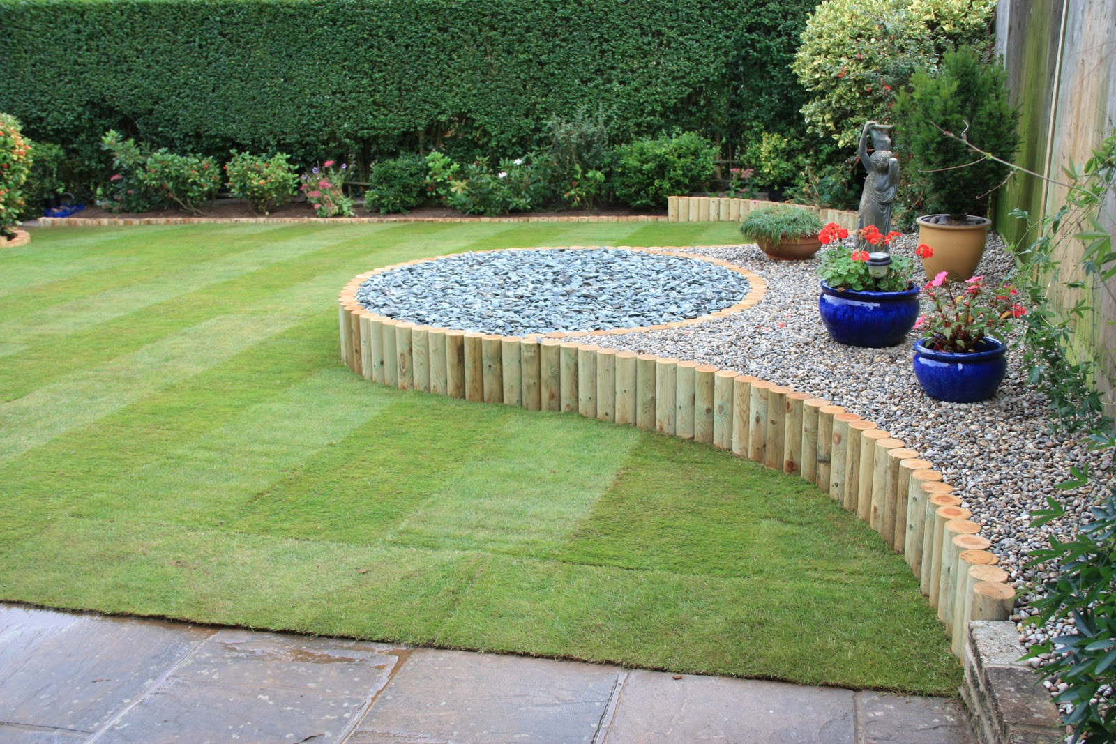 Simple Landscape Design  Thomas Houghton Gardens Landscaping in West Sus Simple