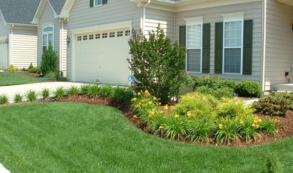 Simple Landscape Design  Plantings & Garden Accents Revolutionary Gardens