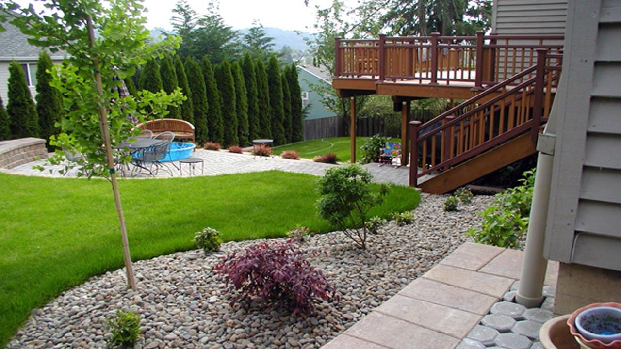 Simple Landscape Design  Simple Small Backyard Landscaping Ideas