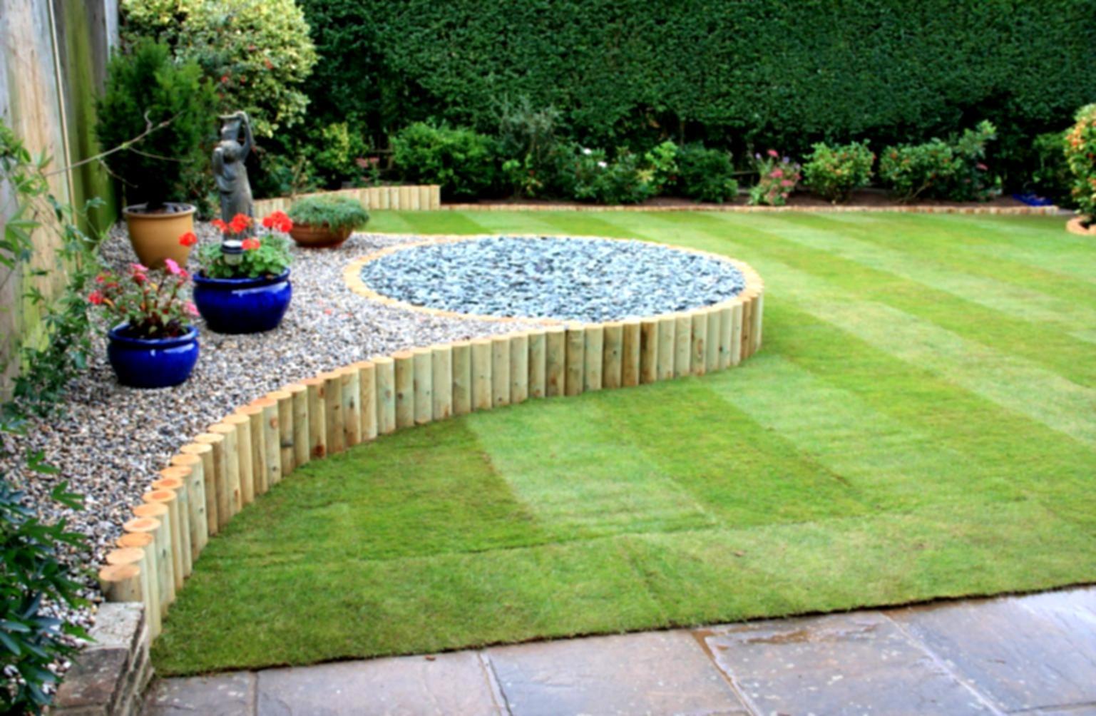 Simple Landscape Design  20 Landscape Designs for Backyard Dap fice