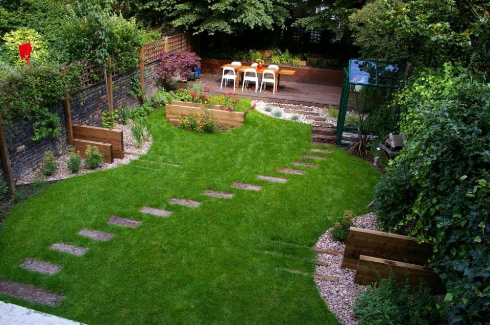 Simple Landscape Design  25 Backyard Designs and Ideas InspirationSeek