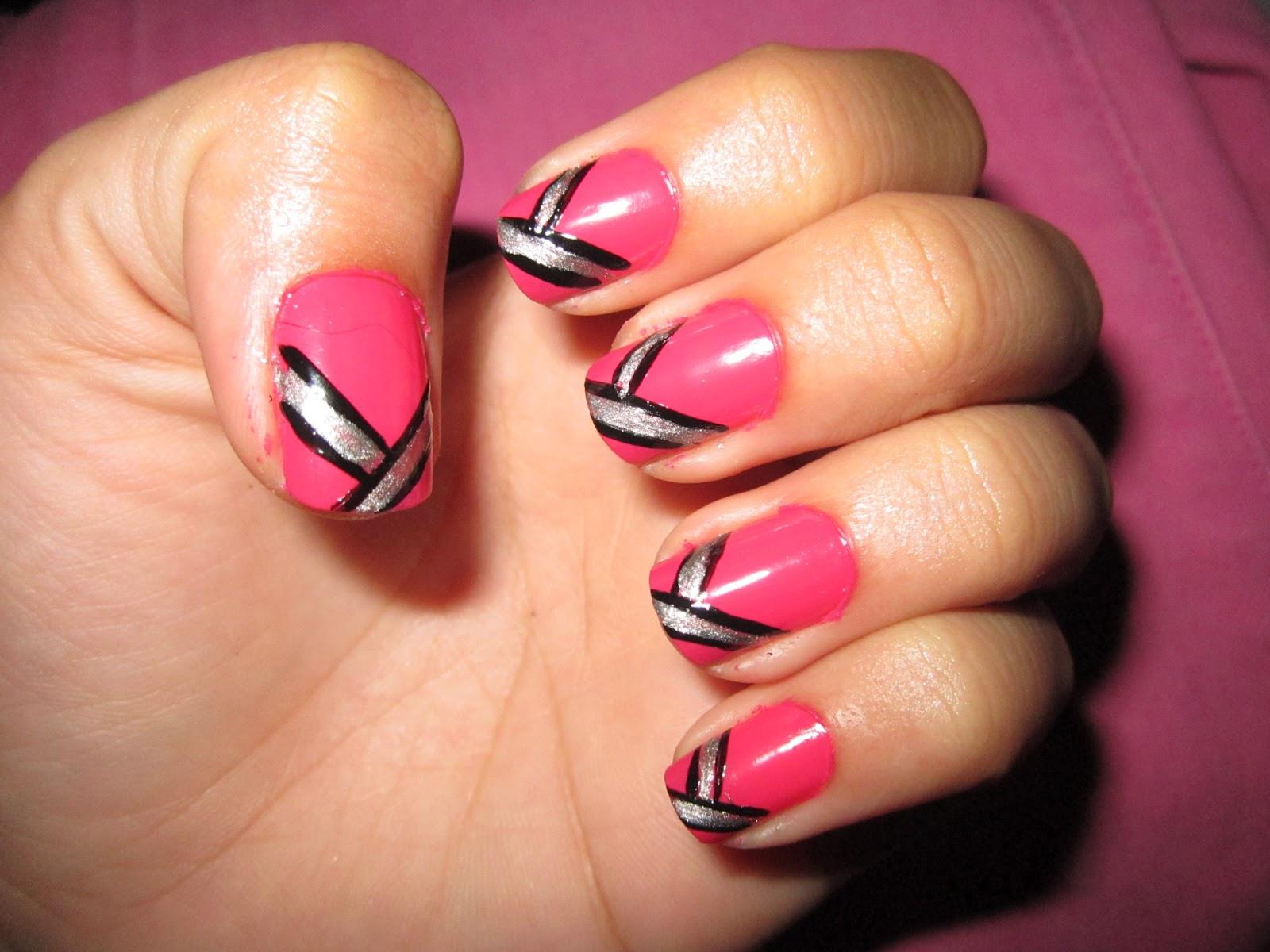 Simple Nail Art Designs  My recent nail art