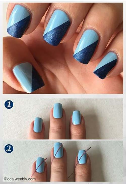 Simple Nail Art Designs  Top 50 Latest And Simple Nail Art Designs for Beginners 2017