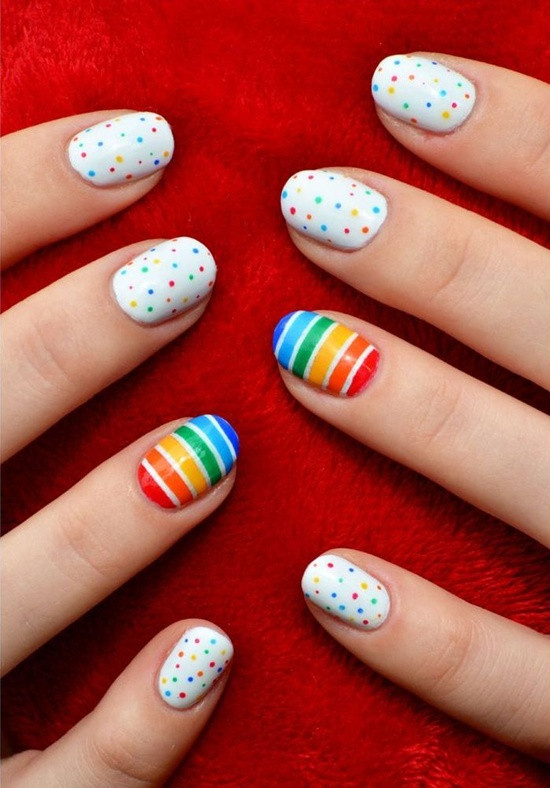 Simple Nail Art Designs  30 Simple And Easy Nail Art Ideas
