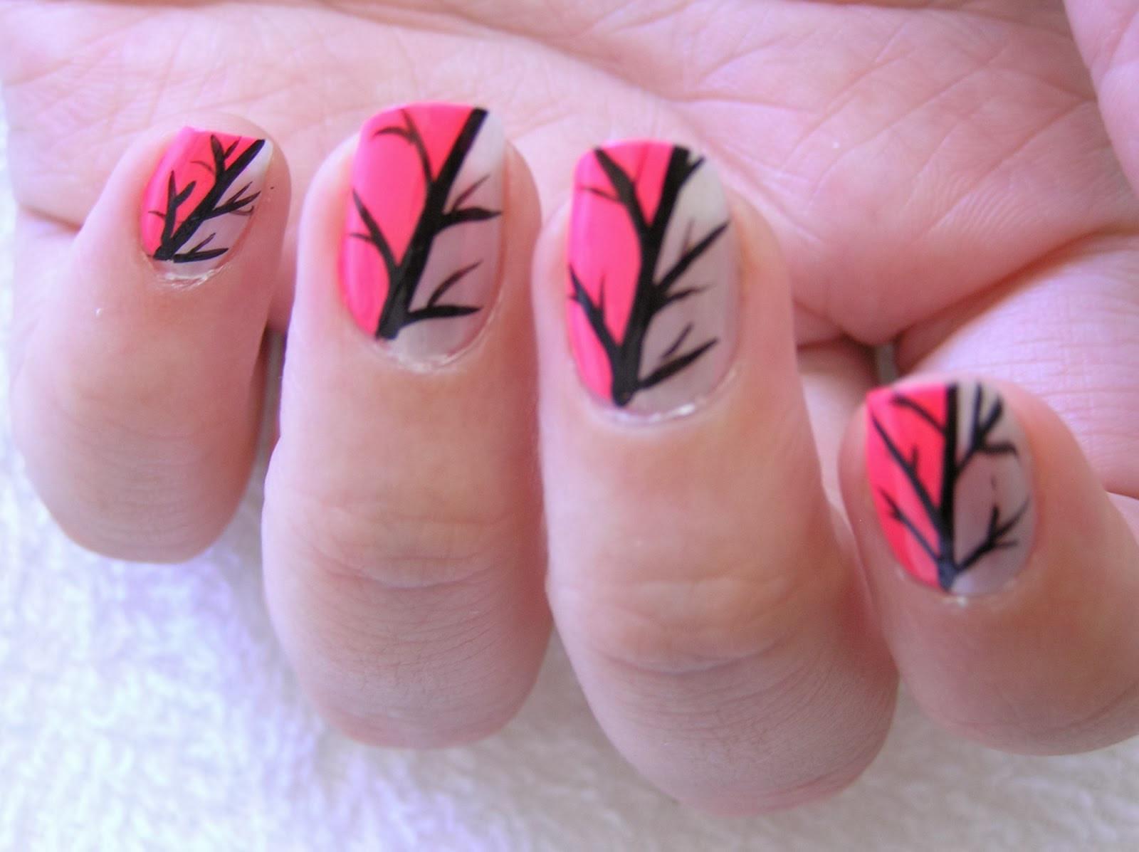 Simple Nail Art Designs  Nice Nail Art Designs Short Nails