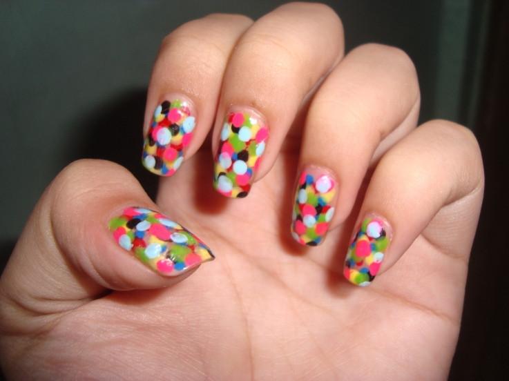 Simple Nail Art Designs  Easy Colorful Nail Art Ideas