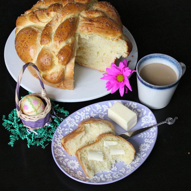 Slovak Easter Bread  Slovak Paska Easter Bread