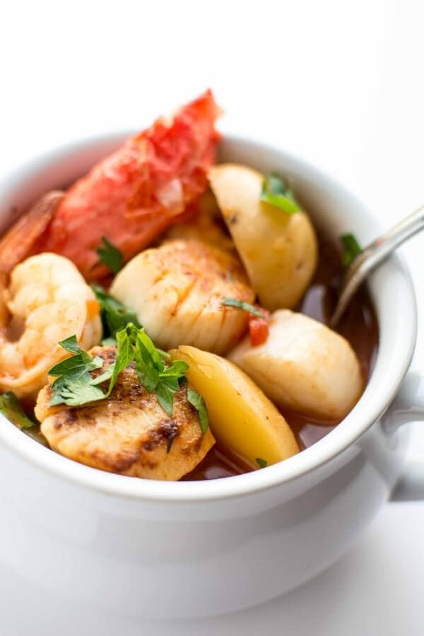 Slow Cooker Seafood Stew  Crockpot Seafood Stew Slow Cooker Gourmet