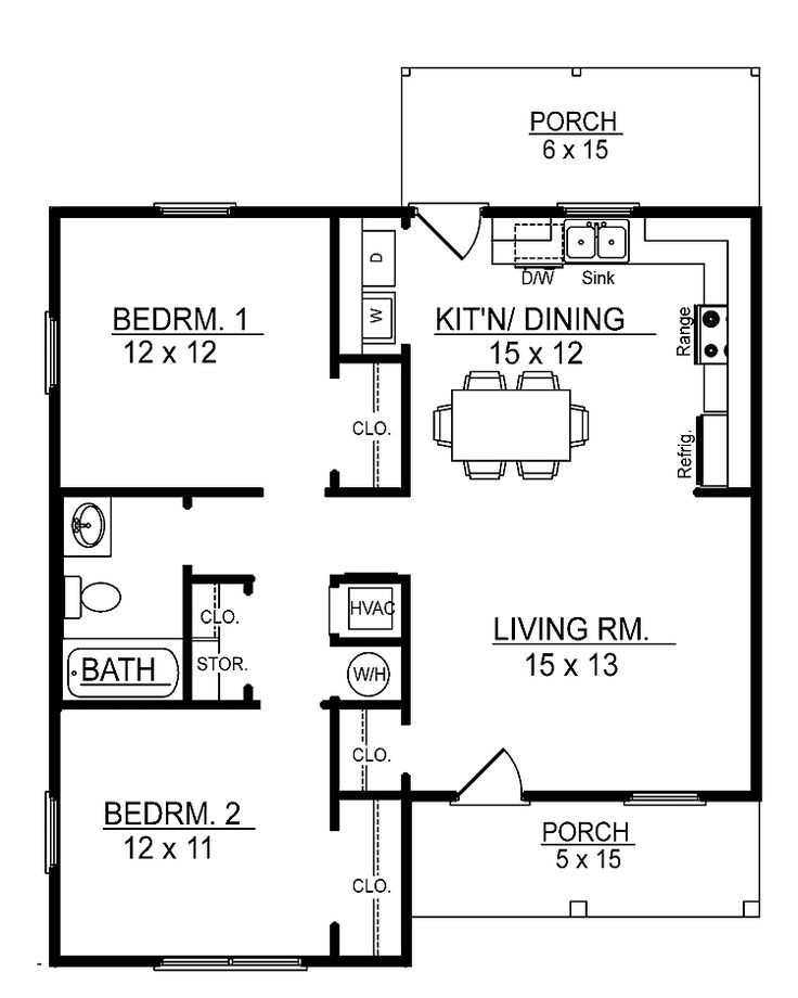 Small 2 Bedroom House Plans  bedroom interior design264ideas
