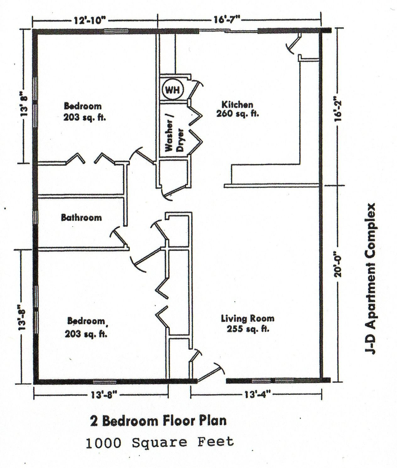 Small 2 Bedroom House Plans  2 Bedroom Bungalow House Plan And Design