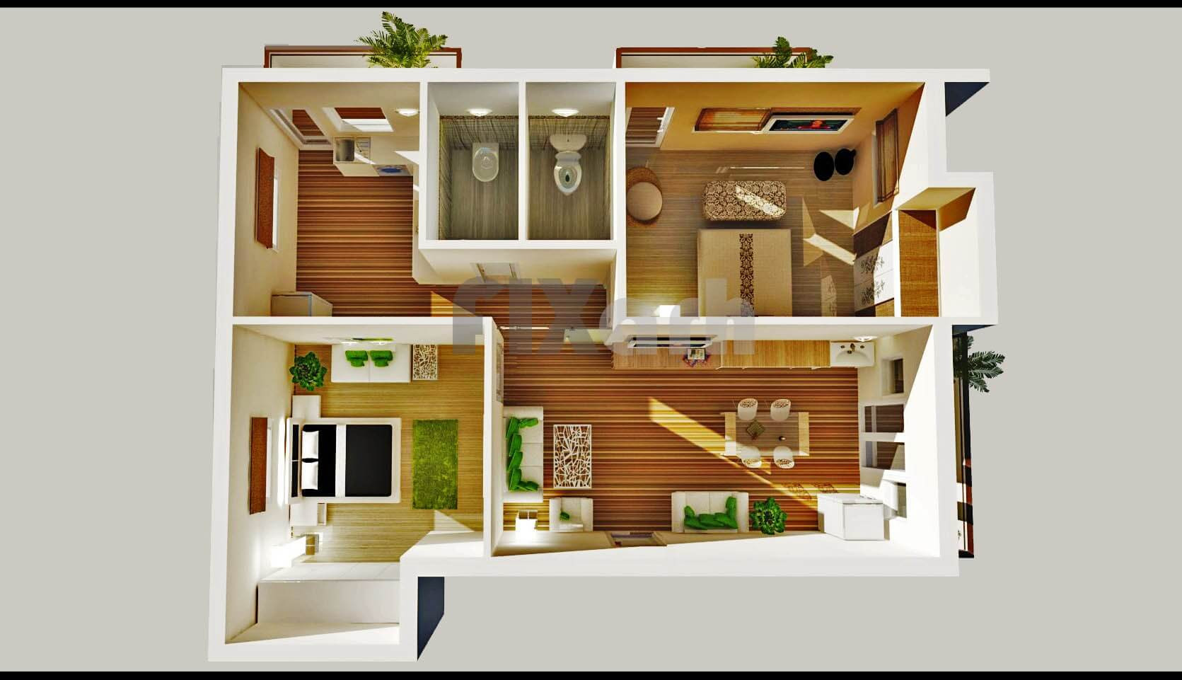 Small 2 Bedroom House Plans  Things You Need to Know to Make Small House Plans