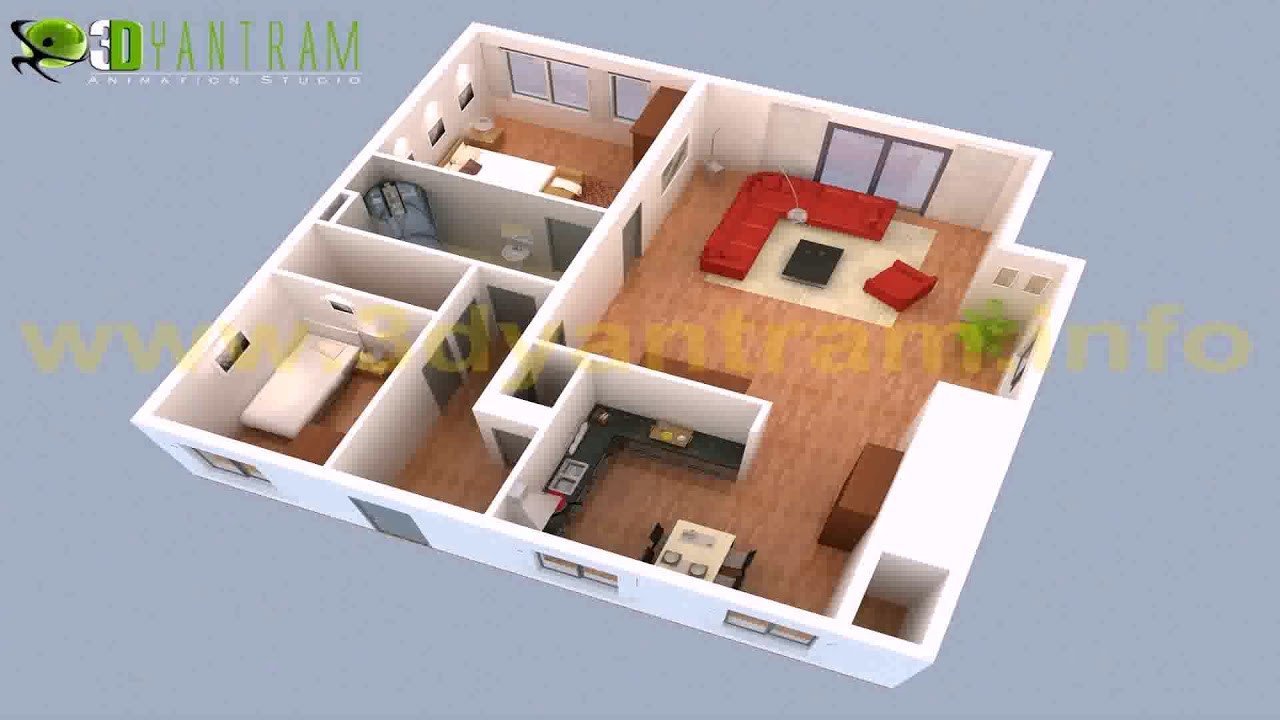 Small 2 Bedroom House Plans  2 Bedroom Small House Plans 3d see description