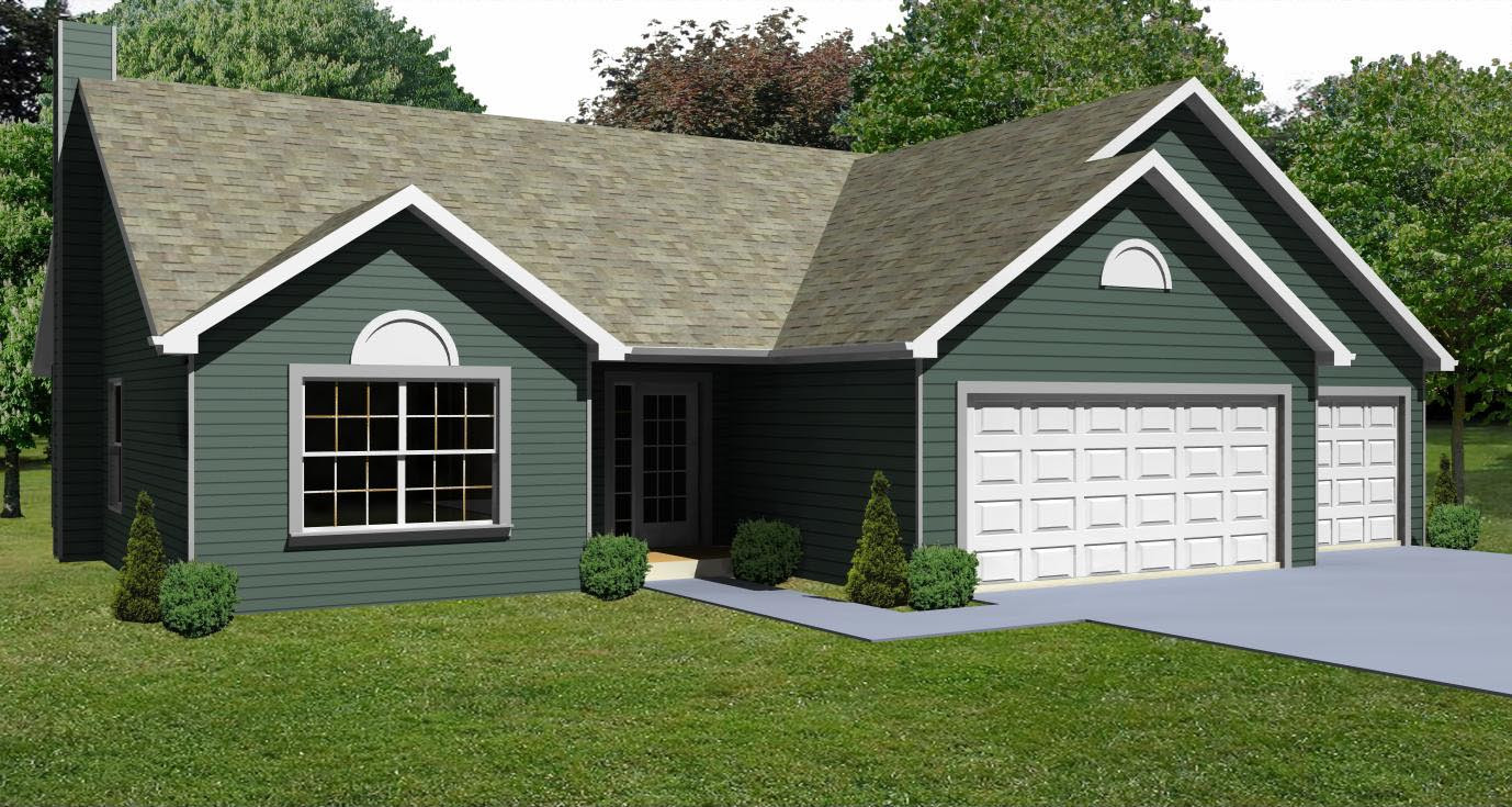 Small 3 Bedroom House Plans  Small House Plan D67 1264 The House Plan Site