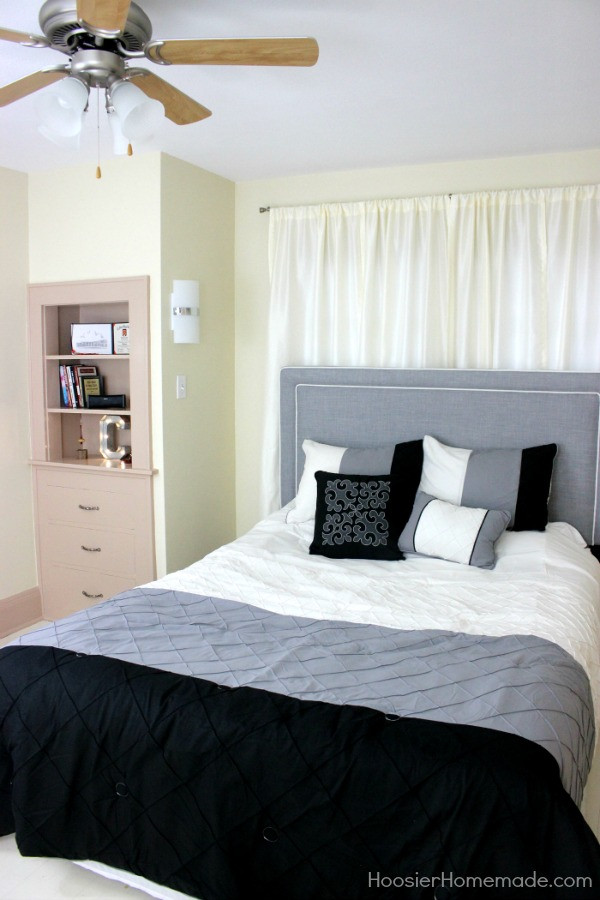 Small Bedroom Makeover  Small Bedroom Makeover Stylish for Young Adults Hoosier