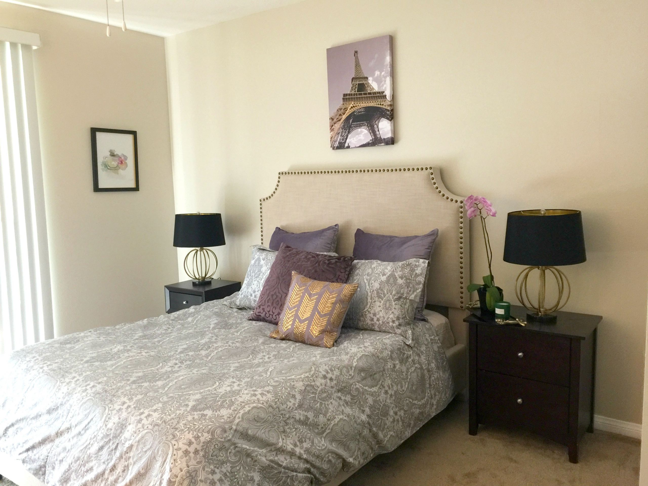 Small Bedroom Makeover  Small bedroom makeover – Cozy and fortable