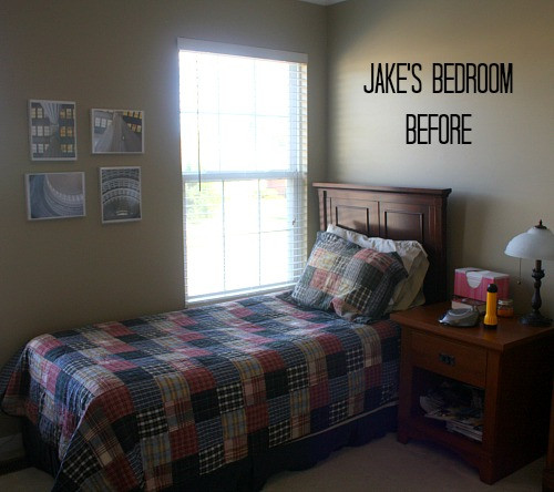 Small Bedroom Makeover  My Son s Small Bedroom Makeover Final Reveal