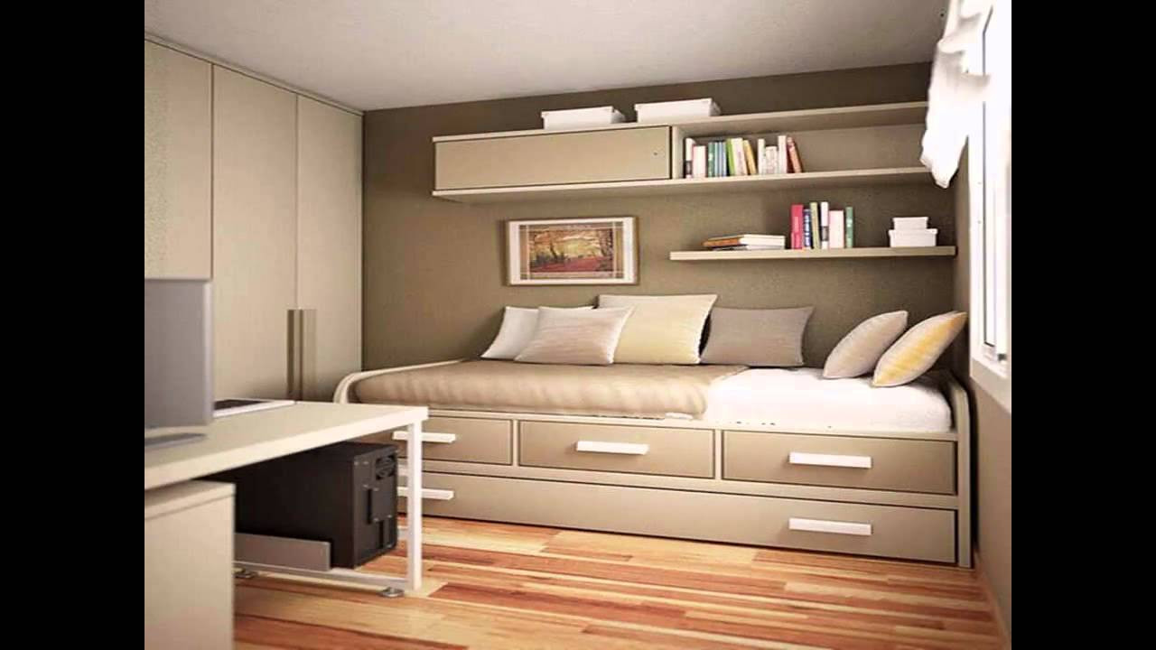 Small Bedroom Makeover  Simple Small bedroom makeover