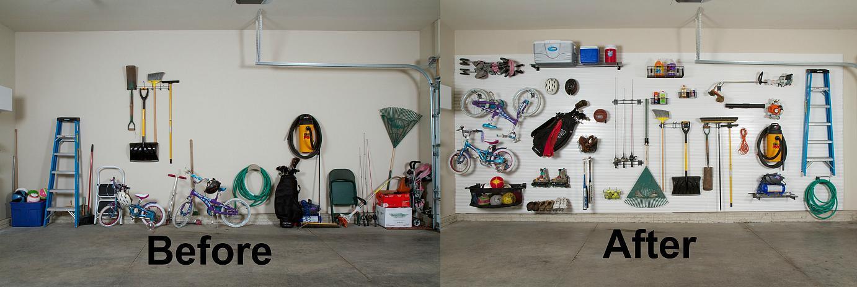 Small Garage Organizing Ideas  decoration before and after diy garage organization ideas