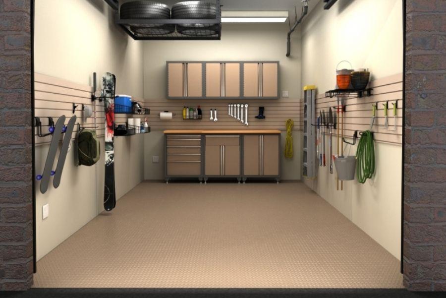Small Garage Organizing Ideas  e car garage organization man cave