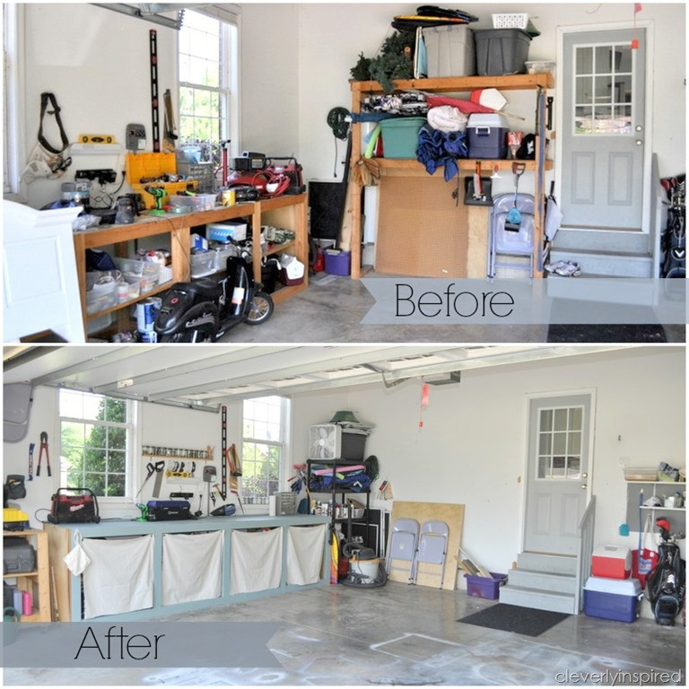 Small Garage Organizing Ideas  10 inexpensive tips to organize the garage