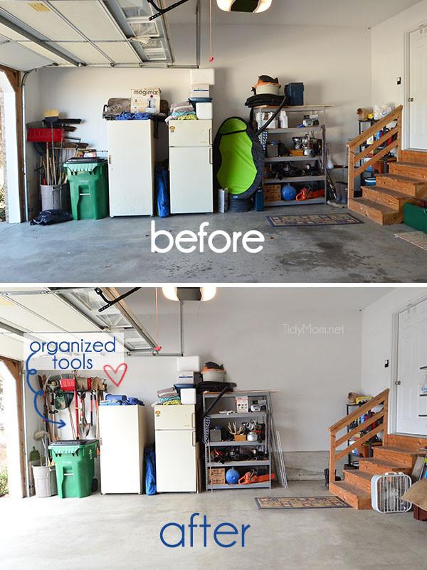 Small Garage Organizing Ideas  Garage Organization