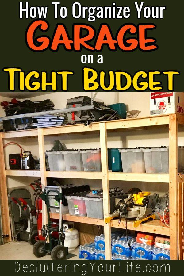 Small Garage Organizing Ideas  Garage Organization 5 Quick and Cheap Garage Organizing