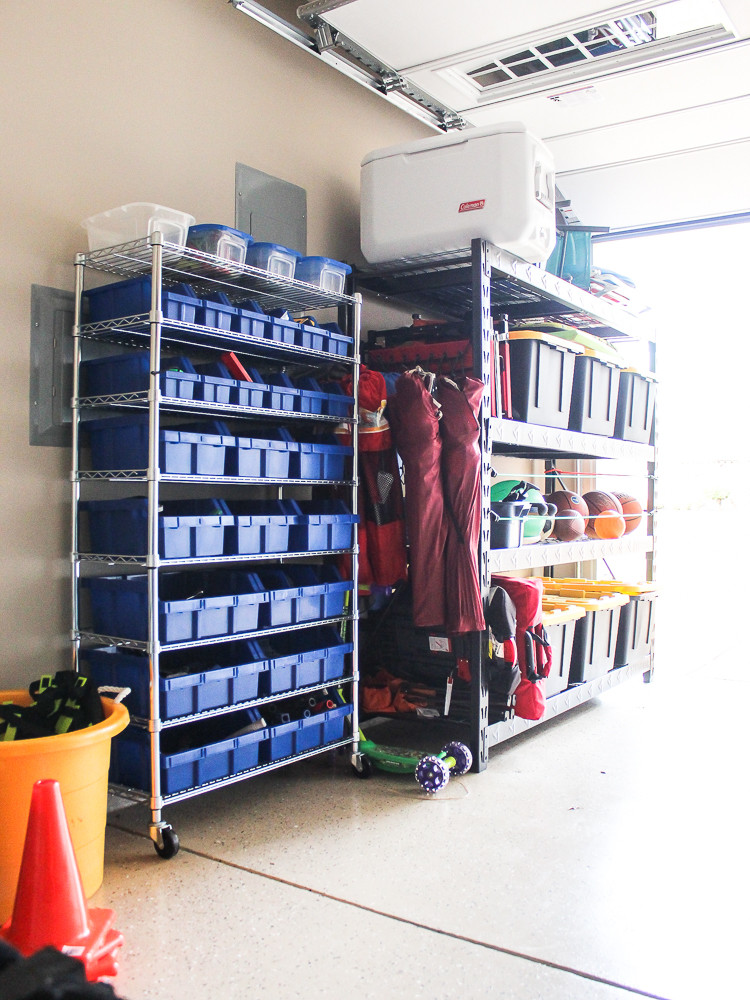 Small Garage Organizing Ideas  Tips for Organizing A Small Garage Chaotically Creative