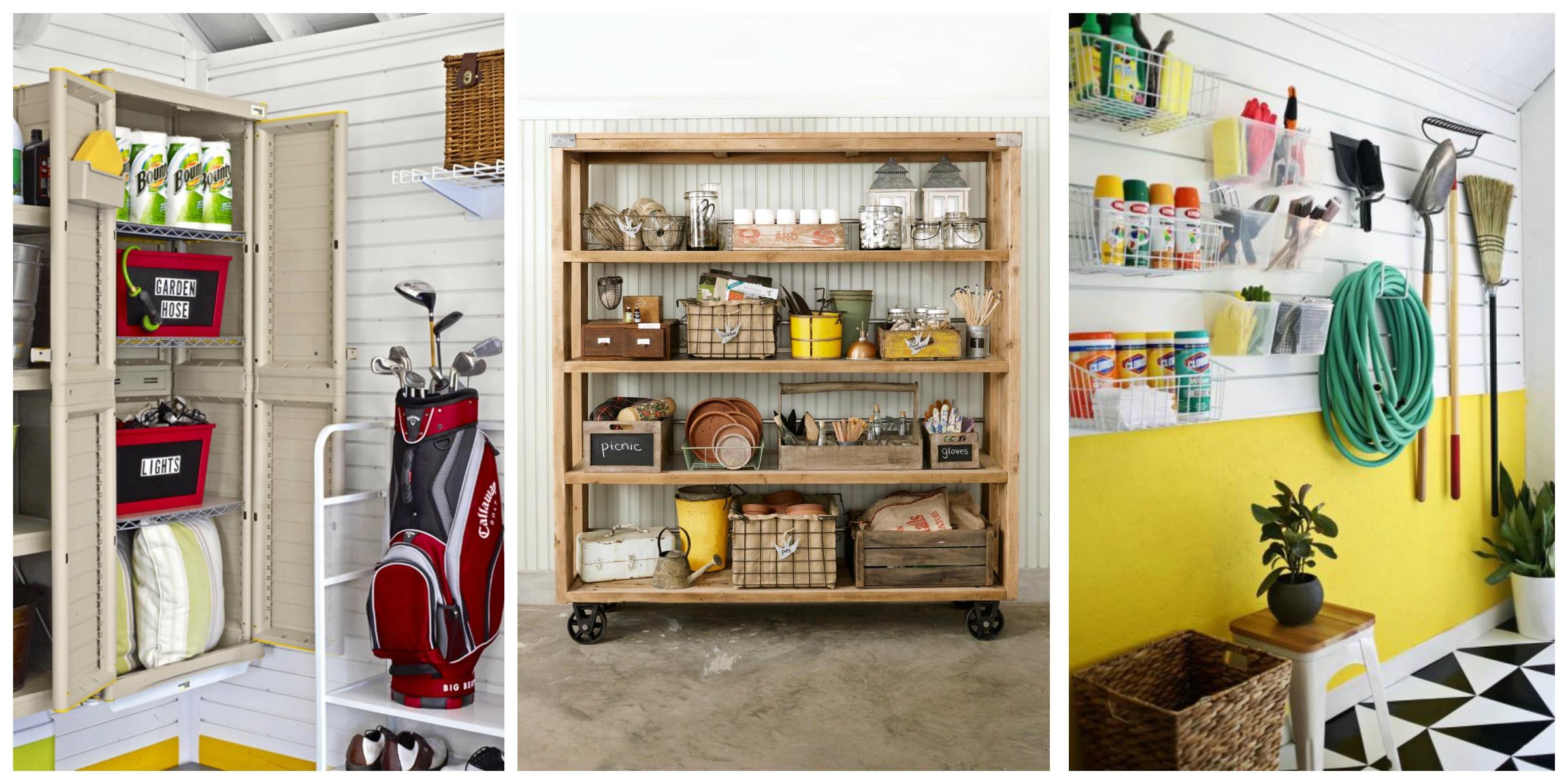 Small Garage Organizing Ideas  14 of the Best Garage Organization Ideas on Pinterest