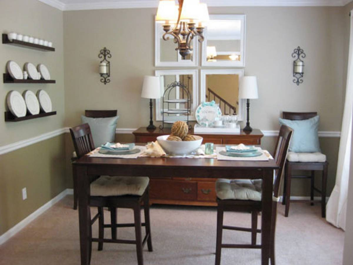 Small Kitchen Dining Room Ideas  How To Make Dining Room Decorating Ideas To Get Your Home