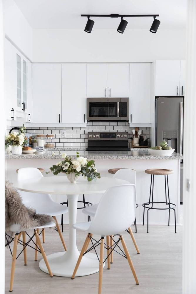 Small Kitchen Dining Room Ideas  Stephanie Sterkovski's Minimalist 800 Square Foot Home Is