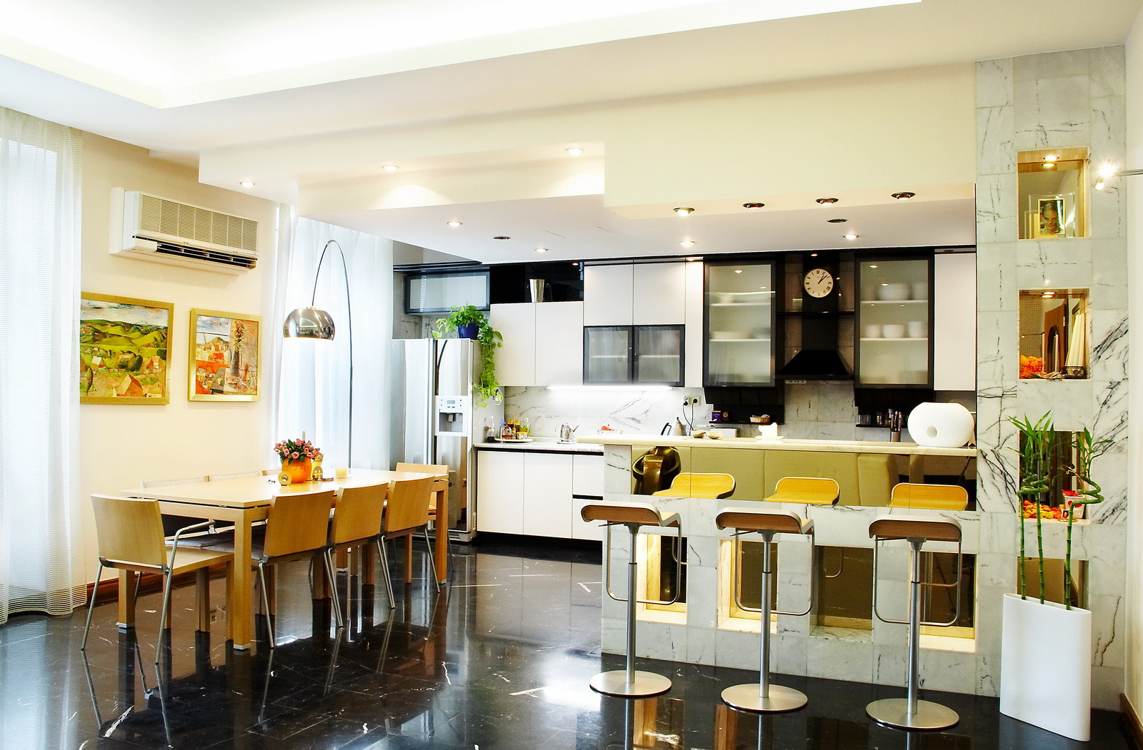 Small Kitchen Dining Room Ideas  13 Dining Room and Kitchen Design Minimalist Dap fice