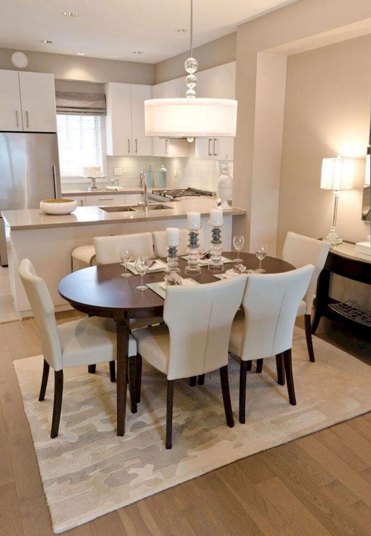 Small Kitchen Dining Room Ideas  60 Gorgeous Small Dining Room Decorating Ideas