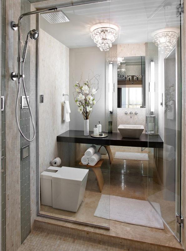 Small Spa Bathroom  Ultra Modern Bathroom Decor Ideas