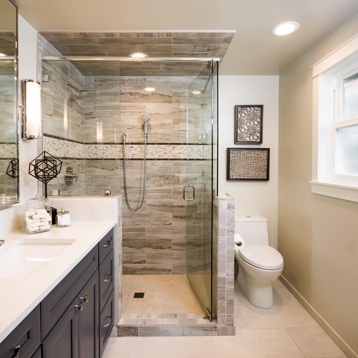 Small Spa Bathroom  Luxurious and Spacious Master Bathroom on a small