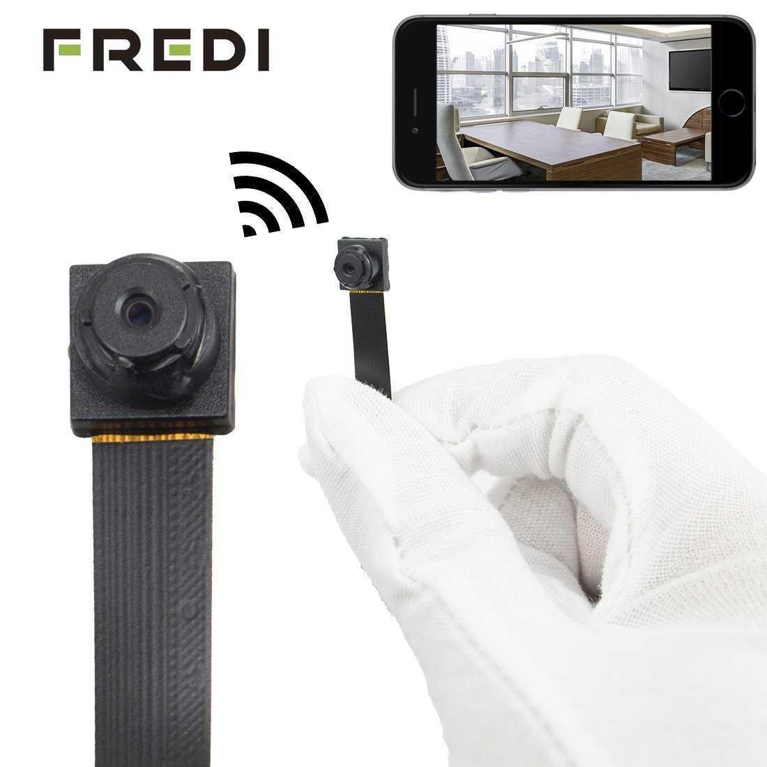 Small Spy Cameras For Bedroom  FREDI HD Mini Small Portable P2P Wireless WiFi Digital