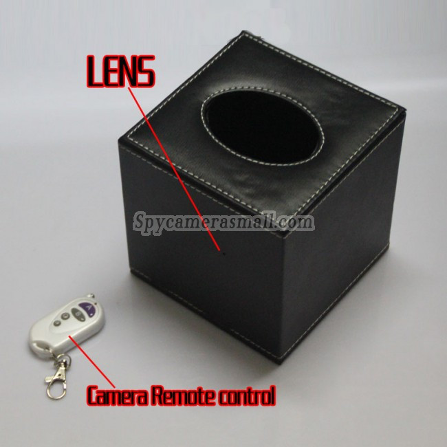 Small Spy Cameras For Bedroom  HD Tissue Box Spy Camera For Bedroom Hidden HD Pinhole Spy