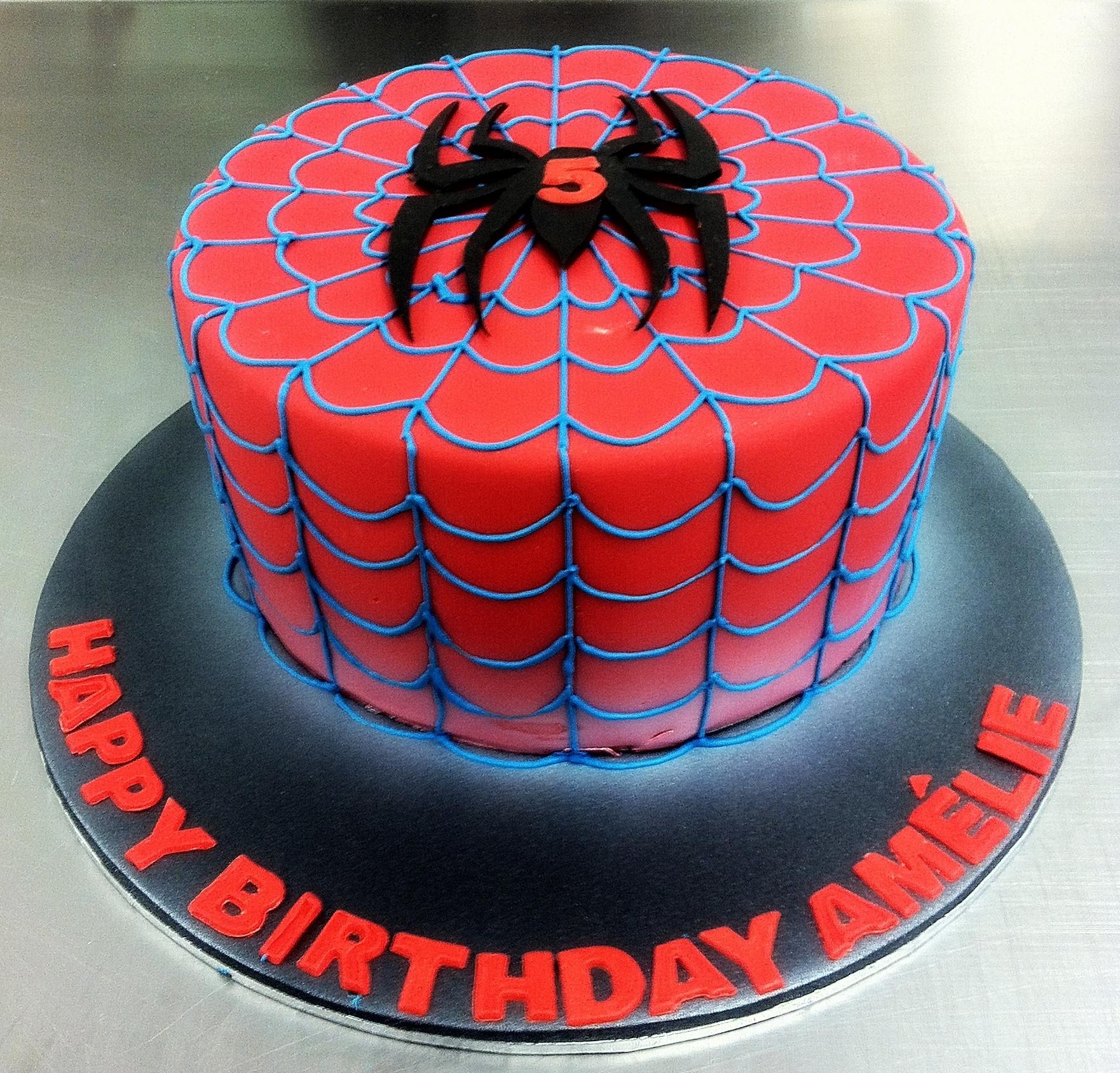 Spiderman Birthday Cakes  Spider Man Birthday Cake