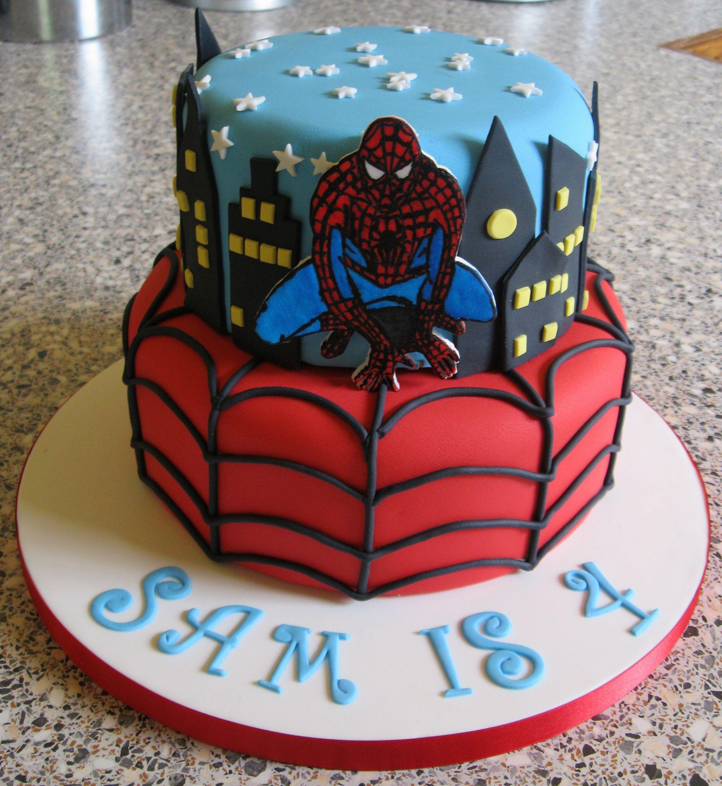 Spiderman Birthday Cakes  Spiderman Cakes – Decoration Ideas
